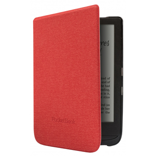 Чехол-книжка для PocketBook 627 Touch Lux 4 (WPUC-627-S-RD) (красный)