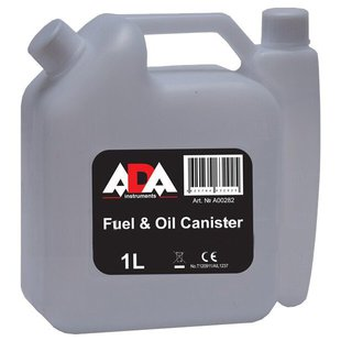 Канистра ADA instruments Fuel & Oil Canister (А00282), 1 л