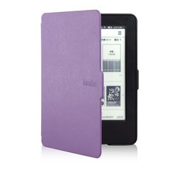 Чехол-книжка для Amazon Kindle PaperWhite (Ultra Slim AKP-US01PR) (фиолетовый)